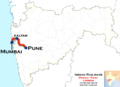 (Mumbai - Pune) Express trains route map