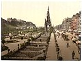 (Princess (i.e. Princes) Street, the castle, and Scott Monument, Edinburgh, Scotland) LOC 3449526781.jpg