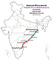 (Santragachi - Tirupathi) Express Route map.jpg