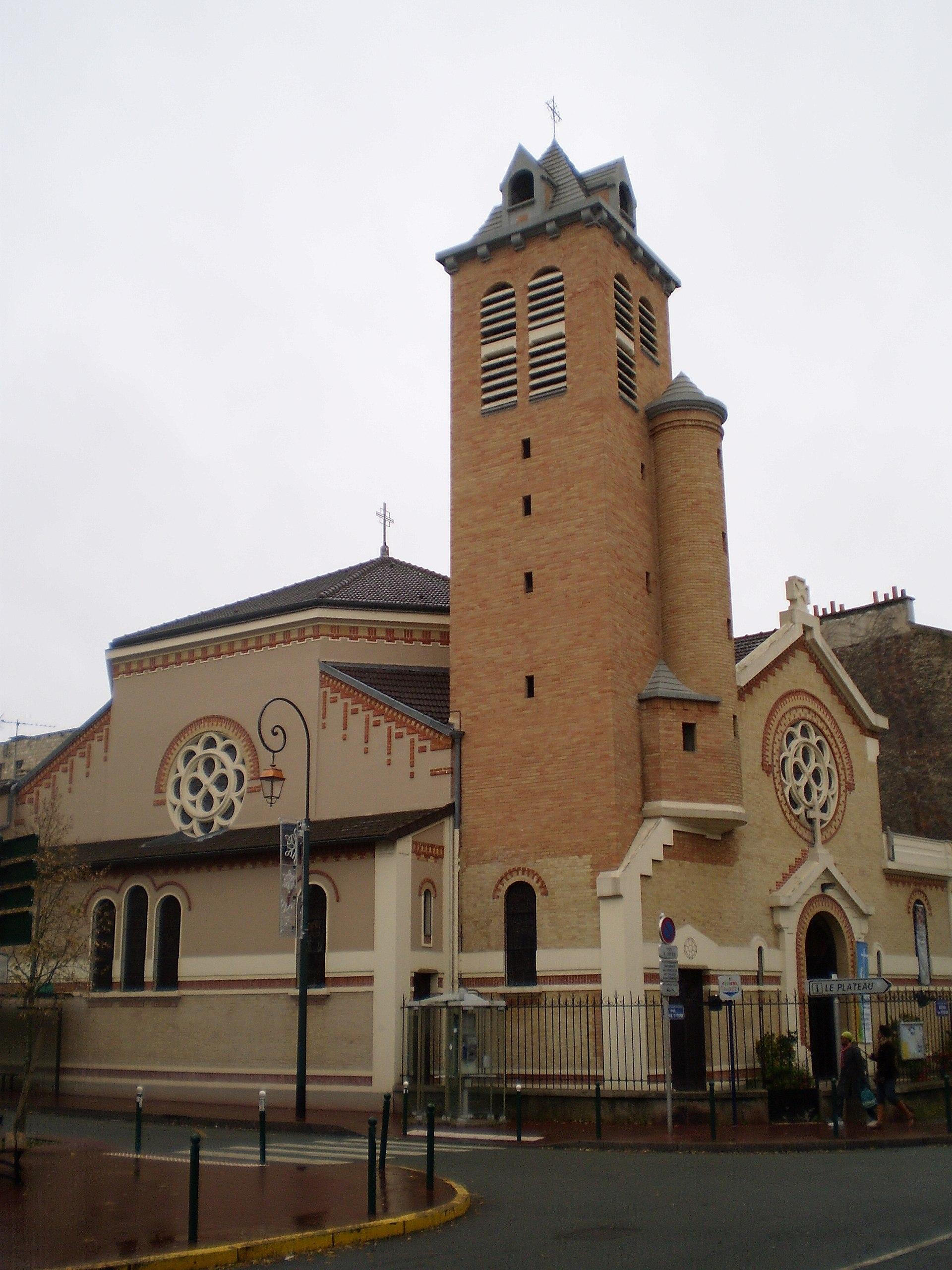 Église Saint-André de Saint-Maurice — Wikipédia