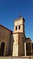 Église Saint-Jacques de Latour-Bas-Elne - Clocher depuis l'ouest.jpg