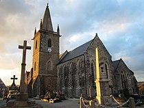 Église Sainte-Trinité de Teurthéville-Bocage.JPG