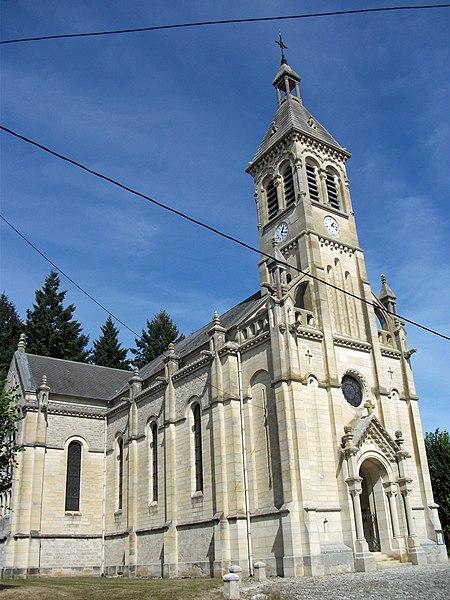 Church of Sanssat, Allier, Auvergne-Rhône-Alpes, France [11742]