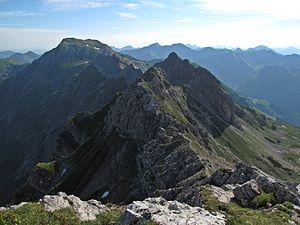 Hindelanger Klettersteig Wengenkopf : Östlicher wengenkopf u2013 wikipedia