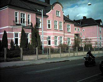 Dag Hammarskjöld - Hammarskjöld's birthplace in Jönköping.