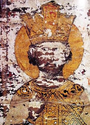 Đurađ Branković - Image: Đurađ Branković, Esphigmenou charter (1429)