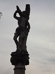Sloup se sochou sv. Šebestiána