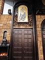 "Архиепископски соборен храм ""Св. Климент Охридски"" (Врата - лево).JPG"