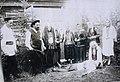 """Арышпар уҡытыусылары """"Зәңгәр шәл"""" спектаклен ҡуя. 1953 йыл. Белорет районы.jpg"""