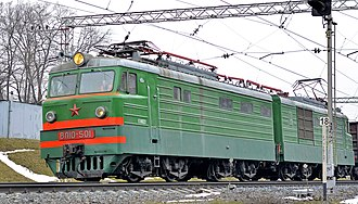 Novocherkassk Electric Locomotive Plant - Image: ВЛ10 501