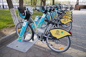 """Велосипедная парковка """"Astana Bike"""""""