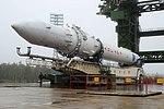 Вывоз и установка ракеты космического назначения «Ангара-1.2ПП» на стартовом комплексе космодрома Плесецк 07.jpg