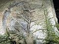 Ескі-Кермен . Малюнок на скелі.jpg