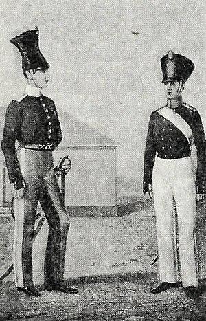 Cantonist - Image: Иллюстрация к статье «Кантонисты военные». Военная энциклопедия Сытина (Санкт Петербург, 1911 1915)