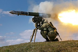 9M133 Kornet - 9M133 missile with launcher