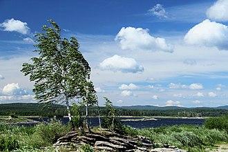 Argayashsky District - Argazi Reservoir, Argayashsky District