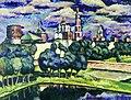 Машков И. И., Новодевичий монастырь. 1913г.jpg