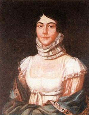 Mikhail Lermontov - Maria Mikhaylovna Lermontova (1795–1817), the mother of the poet
