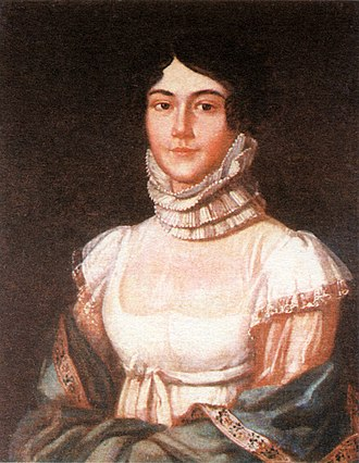 Mikhail Lermontov - Maria Mikhaylovna Lermontova (1795–1817), the mother of the poet