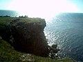 Острів Зміїний, обрив.jpg