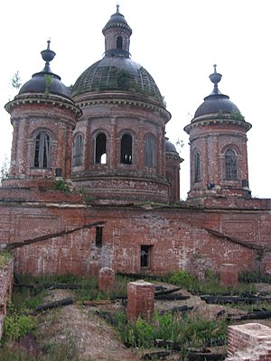 Bogorodsky District, Kirov Oblast - Church of the Intercession of the Theotokos in Uhtym (1847-1867), Bogorodsky District