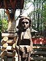 Сельно-печерний комплекс Поляницького регіонального парку. Дерев'яна фігура.jpg