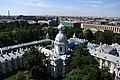 Смольный Собор. Вид со звонницы. Панорама Санкт-Петербурга.jpg