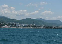 Skyline of Tuapse