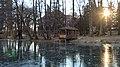 Швейцарське озеро, біля замку графа Шенборна (санаторій Карпати). - panoramio.jpg