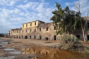 Ezbet El Borg - Urabi fort (Tabiet Orabi) in Ezbet al-Borg