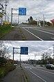 国道278号・国道5号・北海道道1156号森インター線交点(2枚合成、上・国道5号起点(函館)側から、下・同道終点(札幌・長万部・八雲)側から).jpg