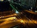 昭島市、青梅線、夜 - panoramio.jpg