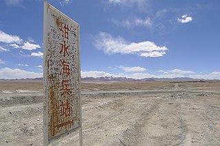 Aksai Chin Disputed region in Xinjiang, Tibet, and Kashmir