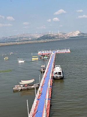 Dongping Lake - Image: 银山镇田园风光 15