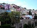 담 넘어 부겐빌레아가 있는 - Guanajuato Mexico - panoramio.jpg