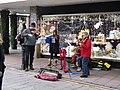 -2019-12-18 Christmas busking in London Street, Norwich.JPG