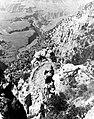 00742 Grand Canyon Historic Kaibab Trail Mule Riders (6970023045).jpg
