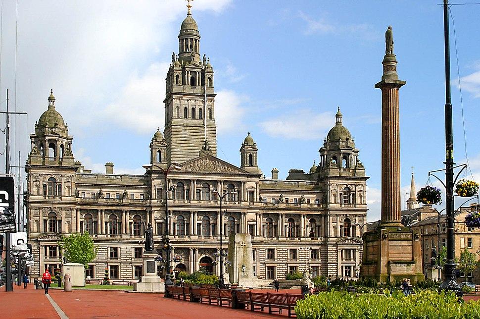 00 104 0403 Glasgow - Rathaus