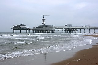 Scheveningen District in South Holland, Netherlands