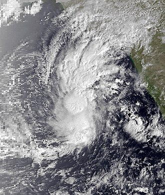 1980 North Indian Ocean cyclone season - Image: 03A Nov 17 1980 0255Z