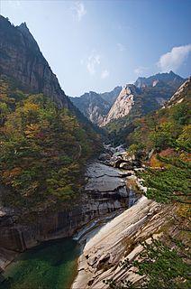 Environment of North Korea