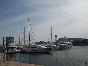 Port Vell, in Barcelona.