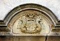 087 Monestir de Sant Cugat del Vallès, escut de l'abat Llupià.JPG