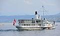 100 Jahre Dampfschiff 'Stadt Rapperswil' - Tag der offenen Dampfschiff-Türe am Bürkliplatz - Alpenquai 2014-04-26 17-50-36 (P7700).JPG