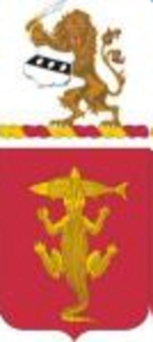 103rd Armor Regiment - Coat of arms