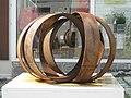 1060 Barnabitengasse 3 - Eisenplastik Per aspera ad astra von Rolf Laven 2011 IMG 4583.jpg