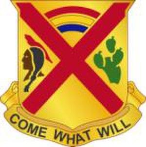 Joseph Bacon Fraser - 108th Cavalry Regiment Insignia
