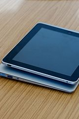 An iPad and a MacBook Air By Paul Hudson from United Kingdom (11