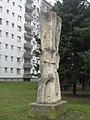 1120 Max Hegele-Weg 14 Lichtensterngasse - Plastik Aufstrebend von Herbert Wasenegger 1969 IMG 7535.jpg