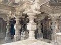 11th century Panchalingeshwara temples group, Kalyani Chalukya, Sedam Karnataka India - 95.jpg